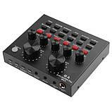 Мікрофон конденсаторний BM800 звукова карта мікшер з пантографом і аксесуарами, фото 2