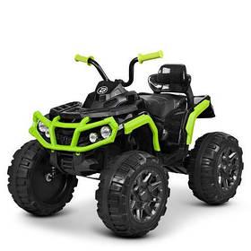 Дитячий квадроцикл M 3156EBLR-2-5 зелено-чорний