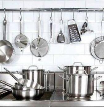Профессиональная посуда для кухонь ресторанов, кафе, баров