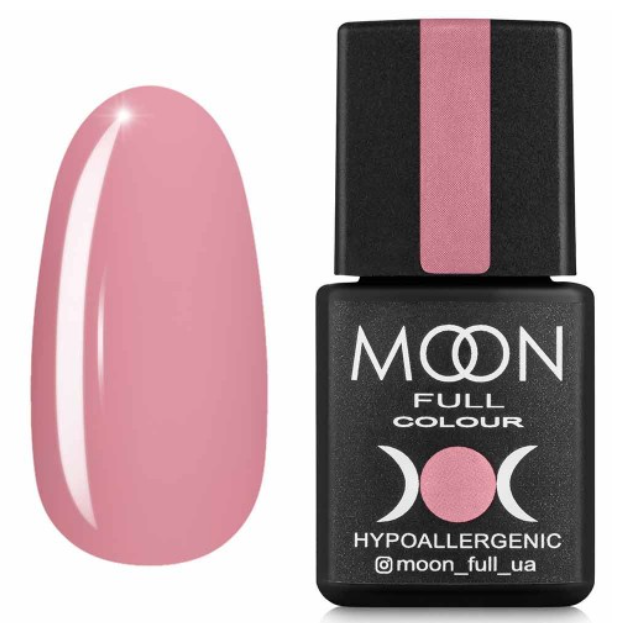Гель лак MOON FULL Air Nude №17 винтажный розовый светлый, 8 мл.