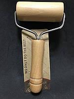 Валик для розкочування тіста і мастики дерев'яний 9,7 см