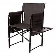 Крісло доладне туристичне Vitan Режисер (840х730х530мм), сіре, полку