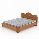 Двуспальная кровать 150 МДФ, фото 5