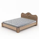Двуспальная кровать 150 МДФ, фото 7
