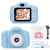 Противоударный цифровой детский фотоаппарат игрушка, видеокамера X200 Smart Kids Camera 3 Series NEW