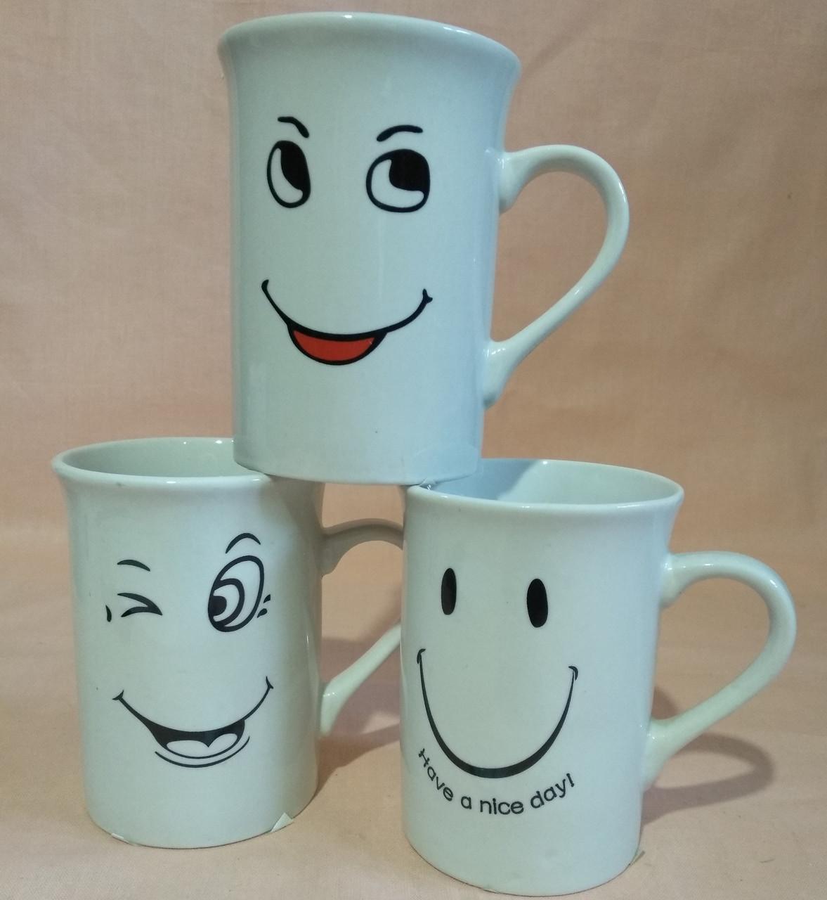 """Чашка """"SMILE"""" 250мл. """"Смайлики"""""""
