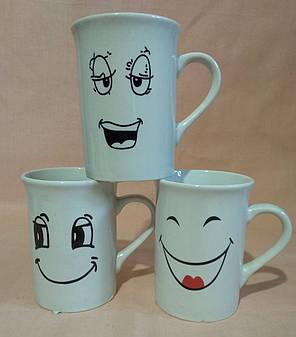 "Чашка ""SMILE"" 250мл. ""Смайлики"", фото 2"