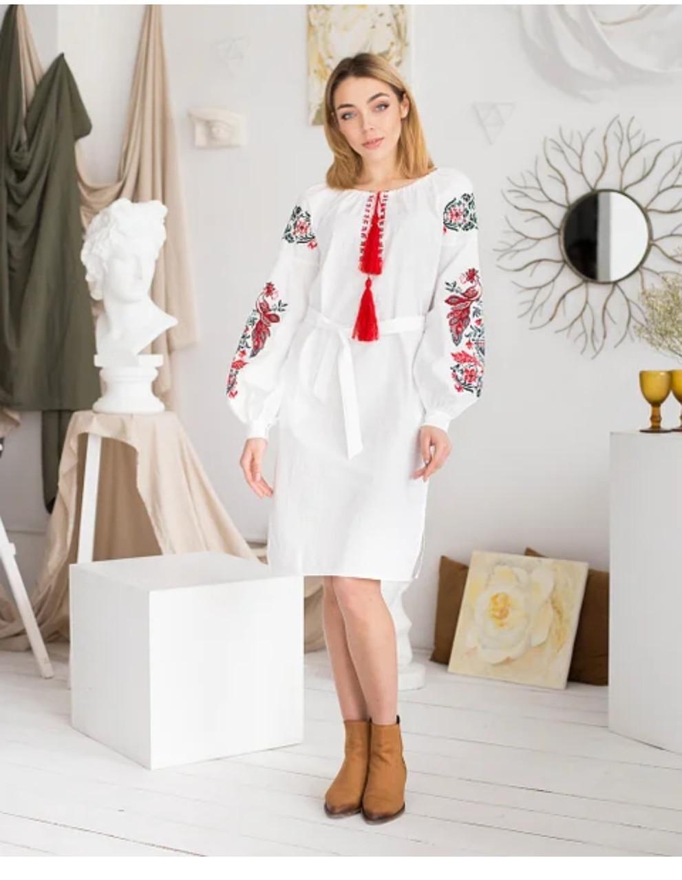 """Жіноча сукня MEREZHKA """"Жарптиця"""