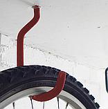 Гак для велосипеду К-001XL з метричною різьбою комплект 2 шт, фото 3