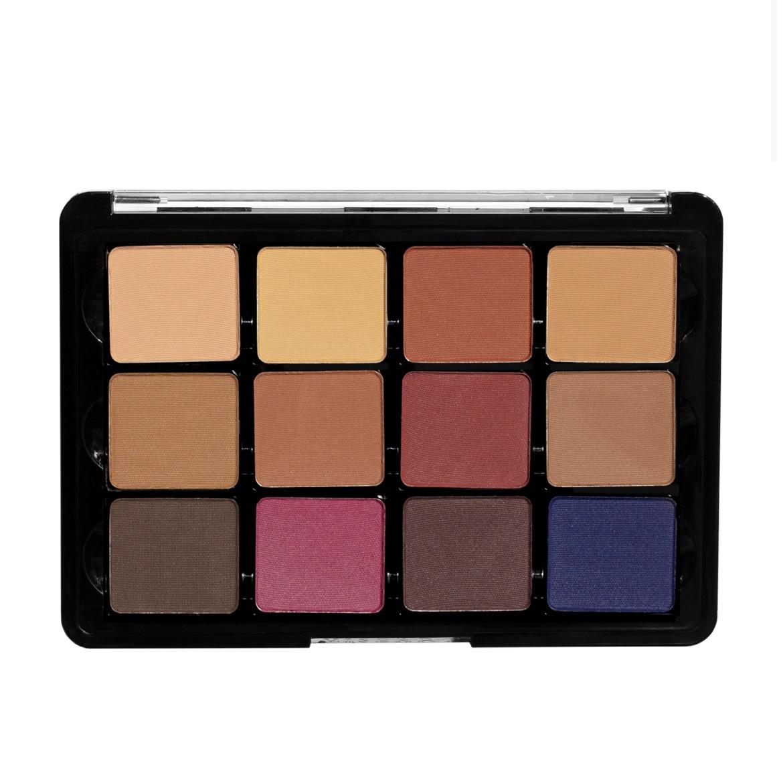 Палетка тіней Viseart Eyeshadow Palette - 14 Neutral Mattes