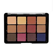 Палетка теней Viseart Eyeshadow Palette - 14 Neutral Mattes