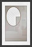 Дзеркало для ванної у білій рамі, фото 2