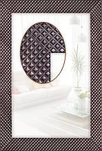 Зеркало в ванную (венге)
