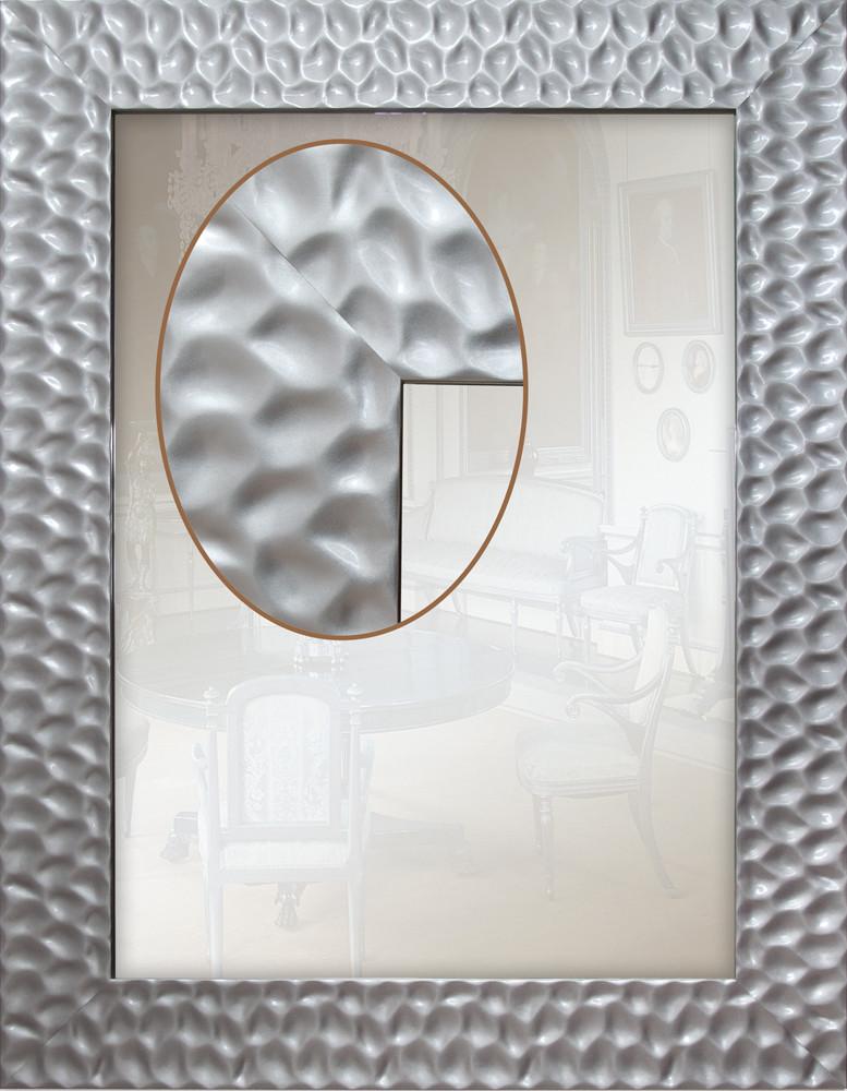 Дзеркало в багетній рамі 90мм