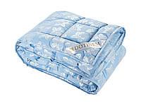 Одеяло DOTINEM ROSALIE искусственный лебяжий пух 195х215 см голубое (211130-2)