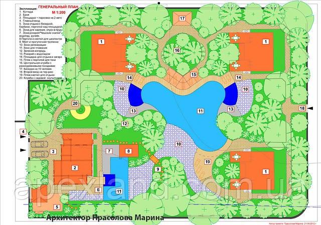 Проектирование водоемов, ландшафтный дизайн.