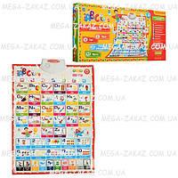 Плакат обучающий для изучения английского языка ABC Kids: 7 режимов