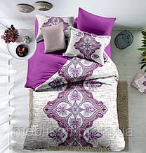 Постільна білизна сатин Digital Виолетта