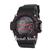 Часы Casio G-Shock Triple Sensor Black-Red 1006-0242
