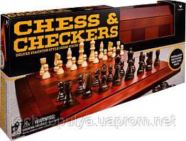 Набір Spin Master з двох настільних ігор Шахи та шашки (SM98377/6033151)