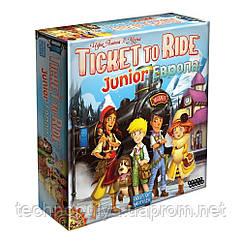 Настільна гра Hobby World Ticket to Ride Junior Європа (1867)