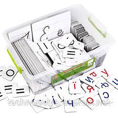 Дидактичний набір Vladi Toys для навчання грамоти та письма українською (VT5555-01)