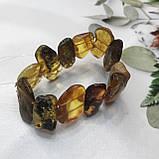 Янтарь браслет натуральный природный янтарь браслет на резинке, фото 3