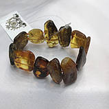 Янтарь браслет натуральный природный янтарь браслет на резинке, фото 2