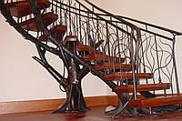Кованые детали для лестниц