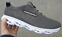 Jordan jump! Качественные летние мужские кроссовки джоржан сетка, кросовки лёгкие дышащие серого цвета