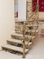 Кованые ступени для лестниц