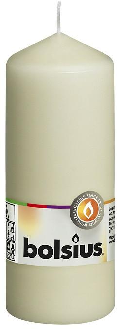 Свеча цилиндр кремовая Bolsius 15 см (60/150-011Б)