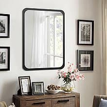 Зеркало фигурное 700х500 мм черный