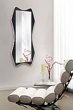 Зеркало на стену черно- белое 1300х600 мм