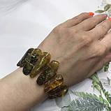 Янтарь браслет натуральный природный янтарь браслет на резинке., фото 5
