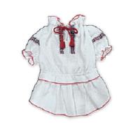 Вышиванка - платье для собак,  размеры  XXS, XS, XS2, S, M
