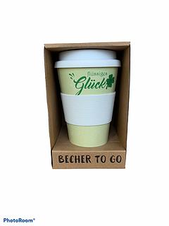 Бамбукова кавова еко гуртка To Go Becher зелена