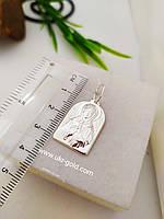 Серебряная иконка пр. Матроны 925 пробы
