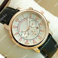Яркие наручные часы Patek Philippe Geneve Gold/White 1951