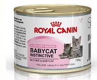 Royal Canin Babycat Instinctive корм для котят с момента отъема до 4 месяцев 195 грм.  12шт