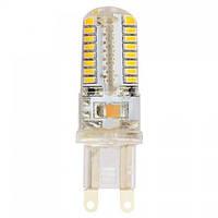 Лампа светодиодная Horoz Electric MEGA-5 LED 5Вт 230Лм G9 6400К холодный свет (001-011-0005-020)