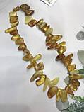 Янтарь натуральный янтарные бусы из янтаря янтарные бусы 48 см, фото 2