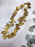 Янтарь натуральный янтарные бусы из янтаря янтарные бусы 48 см, фото 3