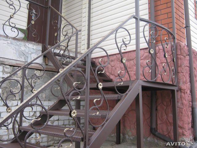 Кування сходи сучасні