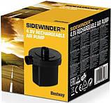 Насос електричний акумуляторний для човнів, матраців, надувних меблів, басейнів USB Bestway 62130, чорний, фото 3