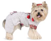"""Вышиванка - костюм """"Иванко"""" для собак,  размер  XS"""