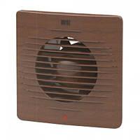 Вентилятор вытяжной встраиваемый TEB Electrik Plastic Fans 15Вт Ø трубы 12см цвет орех (500-030-120)