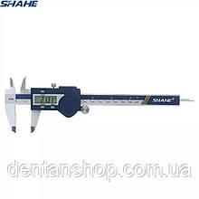 Штангенциркуль электронный Shahe (5110-150) 0-150/0,01 мм с бегунком, глубиномером IP54