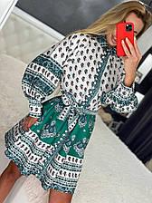 Женское Платье-рубашка  Турция S, M, L, XL  размер (тел 690)