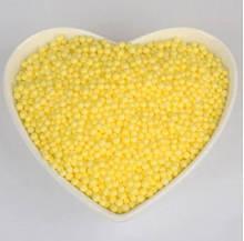 Декоративный наполнитель пенопластовые шарики желтые 10 000 шт